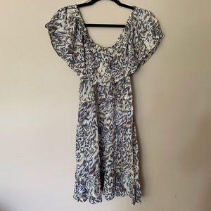 ⚡️ Off the shoulder summer dress